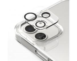 Set 3 x Folie Sticla Securizata Pentru Camera Ringke Compatibila Cu iPhone 12 Mini, Transparenta