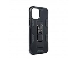 Husa Premium Upzz Defender Antishock Compatibila Cu iPhone 12 Pro Max ,negru -stand Magnetic Pe Spate