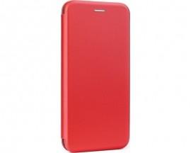 Husa Flip Carte Cu Magnet Lux Upzz Compatibila Cu iPhone 12 Mini, Rosu
