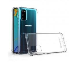 Husa Spate Wozisnky Armor Crystal Samsung Galaxy A41, Transparenta Cu Colturi Intarite