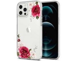 Husa Premium Spigen Cyrill Cecile Pentru iPhone 12 Pro Max, Floral Bloom