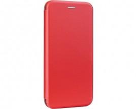 Husa Flip Carte Cu Magnet Lux Upzz Compatibila Cu iPhone 12 Pro , Rosu