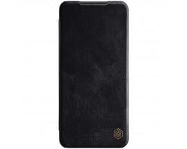 Husa Flip Cover Book Premium Nillkin Qin Compatibila Cu Samsung Galaxy A22 5g, Negru, Piele Ecologica