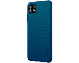 Husa Spate Nillkin Frosted Compatibila Cu Samsung Galaxy A22 5g, Albastru