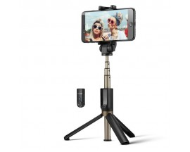Suport Blitzwolf Bw-Bs3 Selfie Stick Tripod 3 In 1 Negru - 7312659