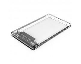 """Rack Orico 2139U3, compatibil HDD/SSD 2.5"""" SATA, USB 3.0, Transparent - 1871266"""