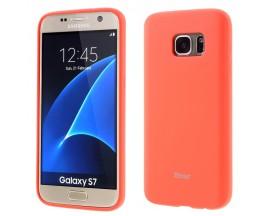 Husa spate Roar Jelly Case Samsung S6 Negru