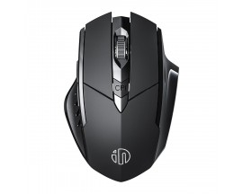 Mouse wireless Inphic PM6BS, Negru - 86492361