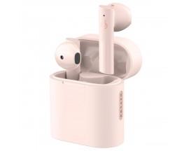 Casti wireless Haylou MoriPods, TWS Bluetooth 5.2, Roz - 930979