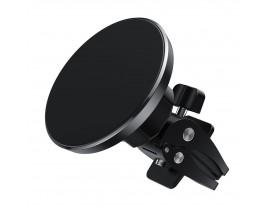 Suport Auto Choetech Magnetic Pentru Ventilatie Compatibil Cu iPhone 12 Pro / 12 Pro Max, Negru