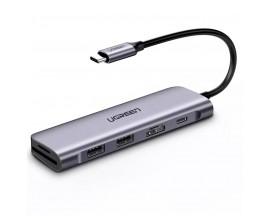 Converter Type C to HDMI +USB 3.0*2 + SD/TF +PD UGREEN - 303874118