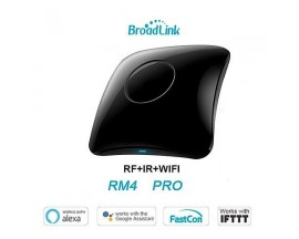 Telecomanda universala HUB Wi-Fi BroadLink RM4 Pro, Compatibil cu Google Home, Alexa & IFTTT