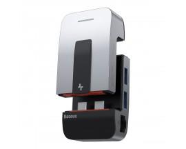 Hub Baseus 9in1 3xUSB 3.0, HDMI, 2xThunderBolt 3, USB-C, jack 3.5mm, RJ45 compatibil Apple MacBook Pro - 6219731