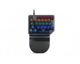 Tastatura gaming mecanica Motospeed K27 cu fir de 1.5m, conexiune USB, iluminat RGB, Negru - 60505162