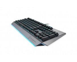 Tastatura gaming mecanica Motospeed CK99 cu fir de 1.6m, conexiune USB, iluminat RGB, Gri - 60596641