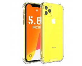 Husa Premium Upzz  Anti-shock Tpu Silicon Crystal Clear pentru iPhone 12 Pro Max Transparenta