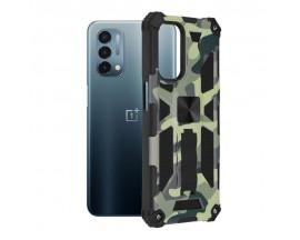 Husa Spate Upzz Tech Blazor Compatibila Cu OnePlus Nord N200 5G, Camo