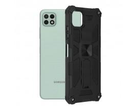 Husa Spate Upzz Tech Blazor Compatibila Cu Samsung Galaxy A22 5G, Negru