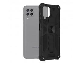 Husa Spate Upzz Tech Blazor Compatibila Cu Samsung Galaxy A22 4G, Negru