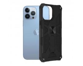 Husa Spate Upzz Tech Blazor Compatibila Cu iPhone 13 Pro Max, Negru