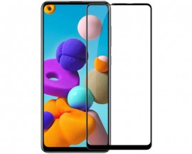 Folie Protectie Ecran Hybrid Upzz Ceramic Full Glue Pentru Samsung Galaxy S20 Fe, Transparenta Cu Margine Neagra