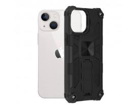 Husa Spate Upzz Tech Blazor Compatibila Cu iPhone 13 Mini, Negru