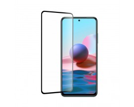 Folie Sticla Full Cover Full Glue Mocolo Compatibila Cu Xiaomi Redmi Note 10 / 10s