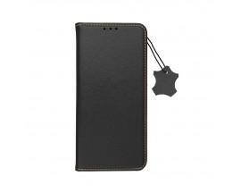 Husa Tip Carte Forcell Smart Pro Case Compatibila Cu iPhone 12 Pro Max, Piele Naturala, Negru