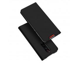 Husa Premium Flip Cover Duxducis Skin Pro Compatibila Cu Xiaomi Mi 9T Pro / Mi 9T, Negru