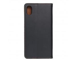 Husa Tip Carte Forcell Smart Pro Case Compatibila Cu iPhone Xr, Piele Naturala, Negru