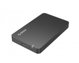 """Carcasa pentru hard disk SATA de 2,5 """"ORICO + cablu USB 3.0 Micro B de 0,6 m - 61890250"""