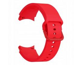 Curea Ceas Upzz Tech Iconband Compatibila Cu Samsung Galaxy Watch 4  ( 40 / 42 / 44 / 46mm ) Coral Red