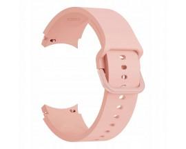 Curea Ceas Upzz Tech Iconband Compatibila Cu Samsung Galaxy Watch 4  ( 40 / 42 / 44 / 46mm ) Roz