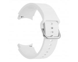 Curea Ceas Upzz Tech Iconband Compatibila Cu Samsung Galaxy Watch 4  ( 40 / 42 / 44 / 46mm ) Alb