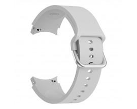 Curea Ceas Upzz Tech Iconband Compatibila Cu Samsung Galaxy Watch 4  ( 40 / 42 / 44 / 46mm )  Gri