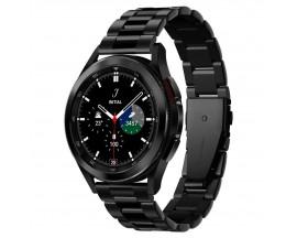 Curea Ceas Spigen Modern Fit  Compatibila Cu Samsung Galaxy Watch 4  ( 40 / 42 / 44 / 46mm )  Metalic Black