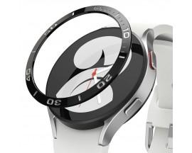 Rama Cadran Ringke Bezel Compatibila Cu Samsung Galaxy Watch 4 44mm, Stainless Negru