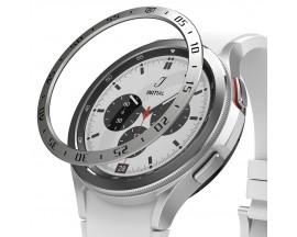 Rama Cadran Ringke Bezel Compatibila Cu Samsung Galaxy Watch 4 Classic 46mm, Stainless Silver