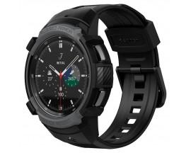 Curea Ceas Spigen Rugged Armor Compatibila Cu Samsung Galaxy Watch 4 Classic 46mm, Charocal Grey