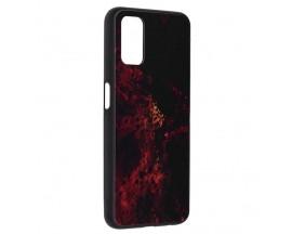 Husa Spate Premium Upzz Techsuit Glaze, Compatibila Cu Oppo A52 / A72, Red Nebula