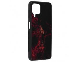 Husa Spate Premium Upzz Techsuit Glaze, Compatibila Cu Samsung Galaxy A22 4G, Red Nebula