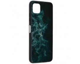 Husa Spate Premium Upzz Techsuit Glaze, Compatibila Cu Samsung Galaxy A22 5G, Blue Nebula