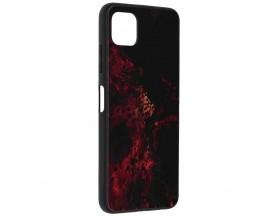 Husa Spate Premium Upzz Techsuit Glaze, Compatibila Cu Samsung Galaxy A22 5G, Red Nebula