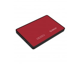 "Rack Orico, compatibil HDD/SSD 2.5"" SATA III, USB 3.0, Rosu - 1868747"