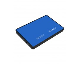 "Rack Orico, compatibil HDD/SSD 2.5"" SATA III, USB 3.0, Albastru - 61868723"
