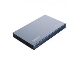 "Rack Extern Orico Aluminiu Pentru HDD / SSD 2.5"" Usb 3.1, Type-C Gen 2, Gri - 1858021"
