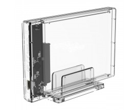 Rack Extern Orico 2159C3, 2.5', USB 3.1, Transparent - 1870474