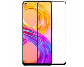Folie Protectie Ecran Hybrid Upzz Ceramic Full Glue Pentru Xiaomi Mi 11 / Mi 11 5G, Transparenta Cu Margine Neagra