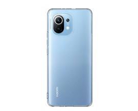Husa Spate Silicon Upzz Compatibila Cu Xiaomi Mi 11 Lite, Grosime 0.5mm, Transparenta