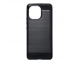 Husa Spate Upzz Carbon Pro Compatibila Cu Xiaomi Mi 11 Lite, Negru